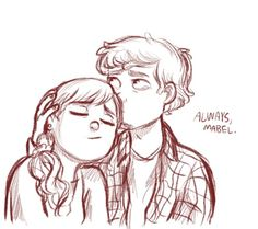 Breaking up Is a hard thing to do pt 3 (pinecest dipper and mabel)