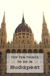 Top Ten Things to do in Budapest | Simply Sojourns