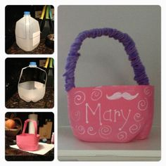 Give your empty milk jug an adorable Easter makeover. Click to learn how.
