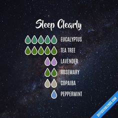 Sleep Clearly - Essential Oil Diffuser Blend