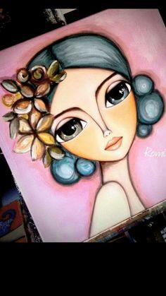 Fabric Painting, Painting & Drawing, Art Sketches, Art Drawings, Afrique Art, Frida Art, Arte Popular, Pastel Art, Eye Art