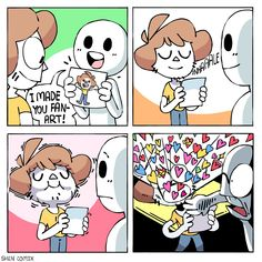 Behold what you have summoned. Shen Comics, Owlturd Comics, Dark Comics, Comics Story, Funny Comics, Funny Shit, Haha Funny, Funny Cute, Funny Jokes