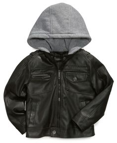 boys faux leather bomber jacket | Our Ronan Mav's Swag | Pinterest ...