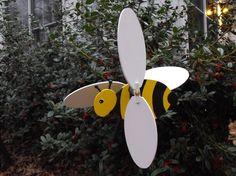 bee whirligig for the garden