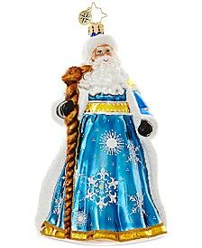 Christopher Radko Snowy Saint Nick Mid-Year Collectible Ornament