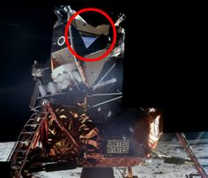 This new rendering may show photo evidence that the moon landings were faked by NASA.