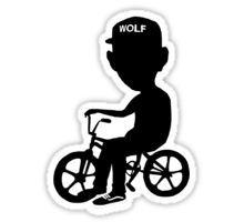Tyler the Creator- Wolf Hayley Sticker Tyler The Creator, Wolf Tyler, Stick It Out, Sticker Design, Stickers, Art Inspo, Prints, Random, Black And White
