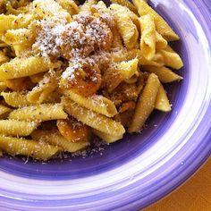 #OggiLucianaMosconi. #Garganelli mignon #lucianamosconi con #gamberetti e #asparagi. :)