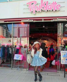 Harajuku, Tokyo has a BUNNY cafe called Raagf.    - I took Susan Holmes, Duff McKagan (Guns n Roses, Velvet Revolver, Loaded) & family on a Harajuku shopping tour.   - Do you like my Alice in Wonderland outfit?? See pics:    http://www.lacarmina.com/blog/2013/03/harajuku-bunny-cafe-duff-mckagan-tokyo-cute-boutiques-shops-laforet/ alice in wonderland outfit, liz lisa my melody, liz lisa dress, white rabbit clock purse