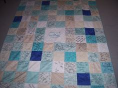 autograph quilt - - Yahoo Image Search Results