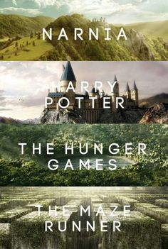 The Chronicles of Narnia, Harry Potter, The Hunger Games, The Maze Runner The Maze Runner, Maze Runner Series, Maze Runner Quotes, Book Tv, Book Nerd, I Love Books, Good Books, The Hunger Games, Fandom Crossover