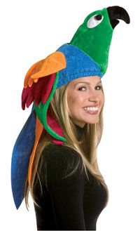 adult parrot hat funny hats