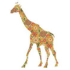 giraffe - patterns