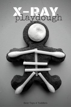 Best Toys 4 Toddlers - X-Ray Playdough - invitation to play and learn about human body with playdough, perfect for toddlers, preschoolers and kindergarteners Eyfs Activities, Playdough Activities, Infant Activities, Activities For Kids, Preschool Ideas, Preschool Crafts, Nursery Activities, Activity Ideas, Kindergarten Activities