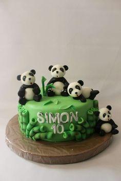 Torta Osos Panda 100 % Comestible.