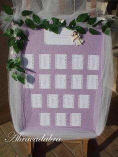 #tableaux #de #mariage #lilac #handmade #custumized