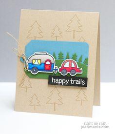 Lawn Fawn Happy Trails