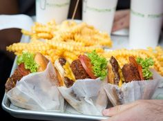 Shake Shack in Covent Garden, London is a must visit for both locals and tourists.