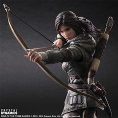 Play Arts Kai Rise of the Tomb Raider Lara Croft 006