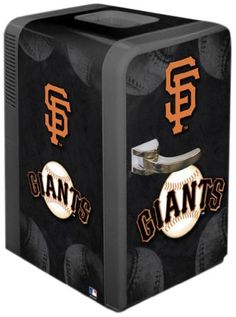 MLB San Francisco Giants Portable Party Refrigerator « Blast Gifts