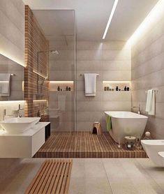horizontal elements diy bathroom decor Great Minimalist Modern Bathroom Ideas - Home of Pondo - Home Design