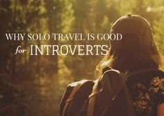 They say solo travel and introversion doesn't go well together. But as an introvert myself, I can say that solo travel can be good for introverts. Shy People, Better Together, Solo Travel, Introvert, Good Things, Sayings, Places, Life, Lyrics