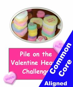 Valentines science - Stacking hearts challenge lesson plan and worksheets. From Betsy Weigle at Classroom Caboodle. High School Classroom, Science Classroom, Classroom Ideas, Science Valentines, Valentine Crafts, School Projects, Projects For Kids, Science Experiments, Science Ideas