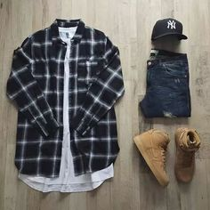 Swag Outfits Men, Dope Outfits, Casual Outfits, Fashion Outfits, Swag Fashion, Gq Fashion, Womens Fashion, Fashion Menswear, Fashion Clothes