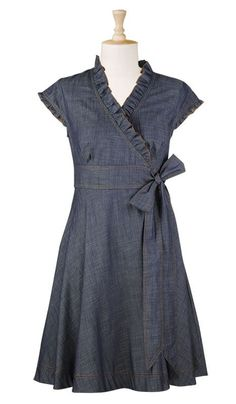 Cute summer to fall dress! Would work with sandals or boots.