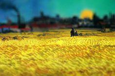 Van Gogh's Paintings Get Tilt-Shifted (12 pics) - My Modern Metropolis