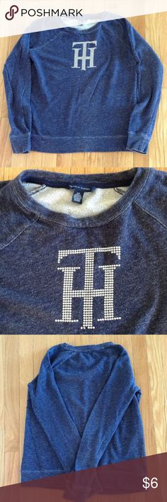 Women's Tommy Hilfiger Pullover ✨Women's/Juniors Pullover✨TH Initials on front of sweater✨Size S✨ Tommy Hilfiger Tops Sweatshirts & Hoodies