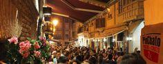 Logroño: Calle Laurel, tapas bar street