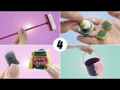 4 Coisas de Limpeza que toda Barbie e outras Bonecas precisam ter - Vassoura, Balde e mais! #4 - YouTube