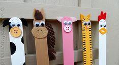 Vous pourrez utiliser des bâtons de grands formats ou les standards. En faire des petites marionnettes ou des signets! Suivre les thèmes selon les saisons. La rentrée scolaire, l'Halloween, Noël, les super héros, les animaux de la ferme, ou encore t