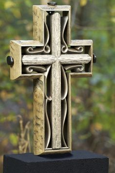 The Unity Cross® Rustic Collection Hand Scraped Rustic Beech with Vintage Iron