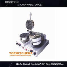250.00$  Buy here - http://alirww.worldwells.pw/go.php?t=1773295676 - commercial  waffle machine,waffle baker  HF-02 250.00$