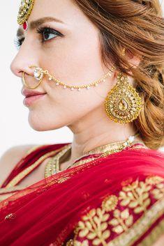 Asian Bridal Jewellery, Indian Jewelry, Wedding Jewelry, South Asian Bride, South Asian Wedding, Nose Jewels, Hindu Bride, Mandarin Oriental, Miami Fashion