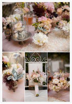 Romantic French garden wedding inspiration | Styled Shoots | 100 Layer Cake