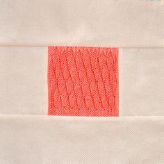 Block 16: Smocked tucks – Textured quilt sampler « Sewn Up by TeresaDownUnder