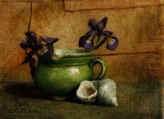 Louise Fenne | OIL | Irises