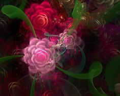 Abstract+Fractal+Art+-+Flowers+Bouquet+-+Tutt'Art@+(48).jpg (900×720)