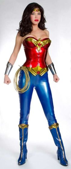 See Adrianne Palicki in the New Wonder Woman Costume trendhunter.com