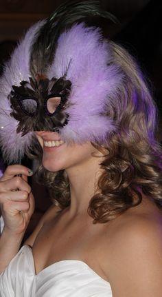 Masquerade Party Bride http://weddingshows.com
