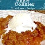 Crock Pot Apple Cobbler Recipe