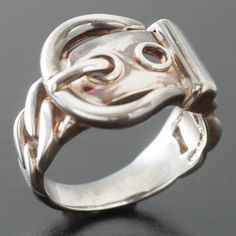Hermes Ring In Silver A