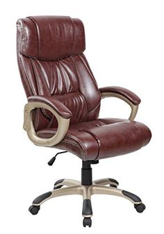 flash furniture high back black leather overstuffed executive swivel