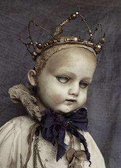 Creepy Toys, Scary Dolls, Creepy Clown, Creepy Cute, Doll Head, Doll Face, Misfit Toys, Trash Art, Haunted Dolls