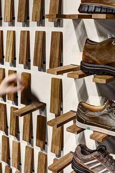 Nos encanta el invento de las estanterías plegables ¿y a ti? #home #sweethome #bathroom #decor #design