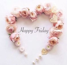 All Things Shabby and Beautiful Cute Good Morning Quotes, Good Day Quotes, Its Friday Quotes, Good Morning Good Night, Body Shop At Home, The Body Shop, Bon Weekend, Tuesday Images, Friday Messages