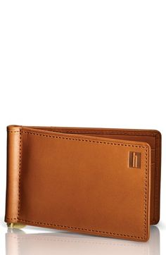 Men's Hartmann 'Belting Collection' Money Clip Wallet - Brown
